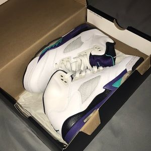 Air Jordan 5 retro grapes
